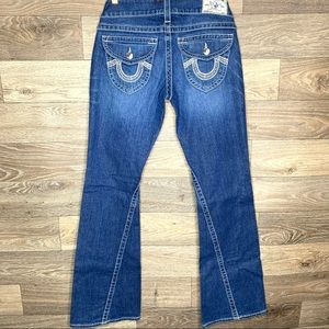 True Religion Joey Flap Pocket Flare Jeans 29